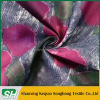 Top 10 For garment use Wholesale cheap flower printed 210T taffeta fabric