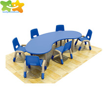 High Quality Preschool Used kids plastic chairs and tables