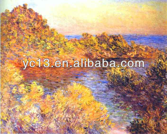 Masterpiece landscape oil painting
