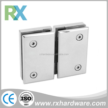 Types Of Low Price Double Side 180 Degree Glass Shower Door Hinge