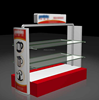 Acrylic or Wooden Small home appliance Display Stand With Logo