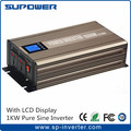 CE RoHS 95% efficiency with LCD Display Pure Sine Wave Power Inverter 1000W