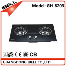 Kitchen Appliance Integrated Cooker Gas Stove with Two Buners