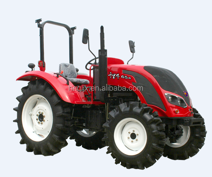China cheap 60hp 4wd QLN604 farm tractor 60hp 4x4 with low price