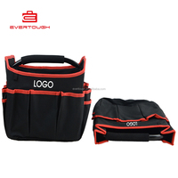QXJG-STGGB-1014 600D Folding heavy canvas Carriers with steel handle tool bag OEM ODM
