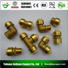 High Quality Lead Free Brass quick connect pipe fittings