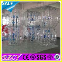 Hot sale hamster ball/inflatable human sized hamster ball/cheap soccer balls sale