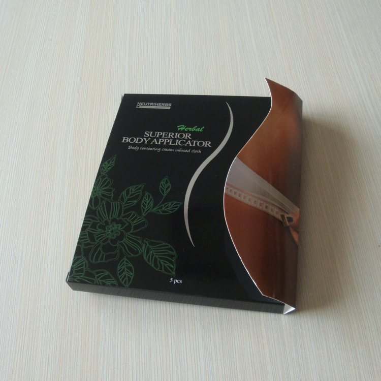Elgant and High Quality Custom size women underwear packaging