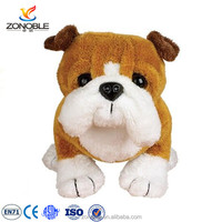 2016 New product french puppy dog stuffed plush soft dog toy cute soft plush bulldog