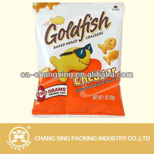 flexible baked snack crackers packing bag