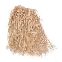 Hawaiian theme party costumes Decorations Luau Party Natural Color Raffia Grass Skirt QHGD-0108