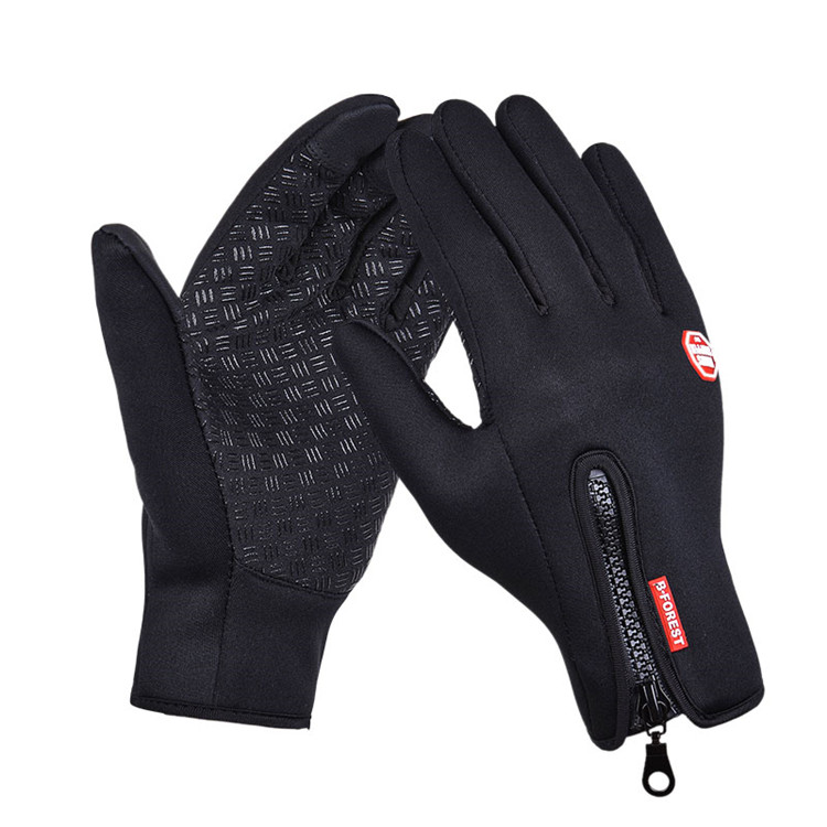YOUME Outdoor Sports Hiking Winter Windproof Bicycle Bike Cycling Gloves For Men Women Soft Anti-slip Warm Gloves