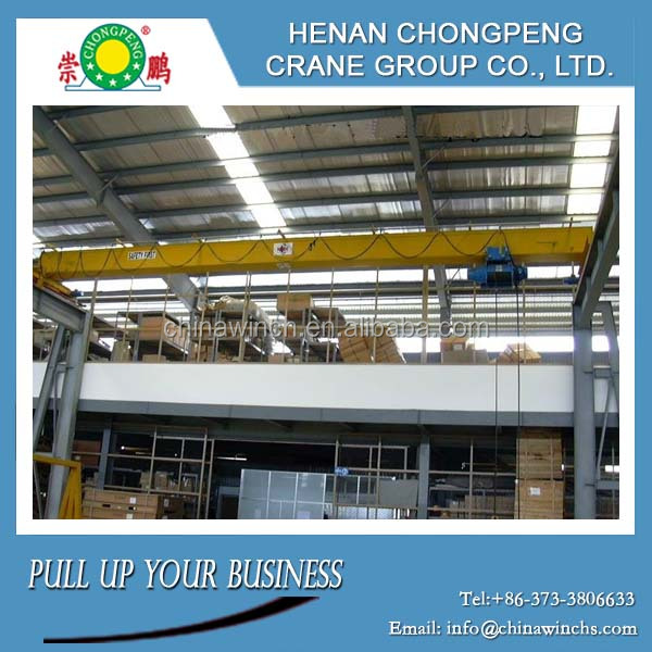 Loading & Lifting Overhead Crane Mechanical Workshop Equipment