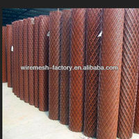 pvc coated expanded metal mesh roll