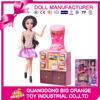 Fashion Toy Girl Doll Play Set Playing House Set