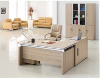 Hot selling economical melamine office desk ,cheap office table CM-02