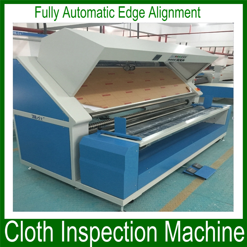 Advanced latex examination gloves making machine/double face fabric inspection and rolling machine with high quality