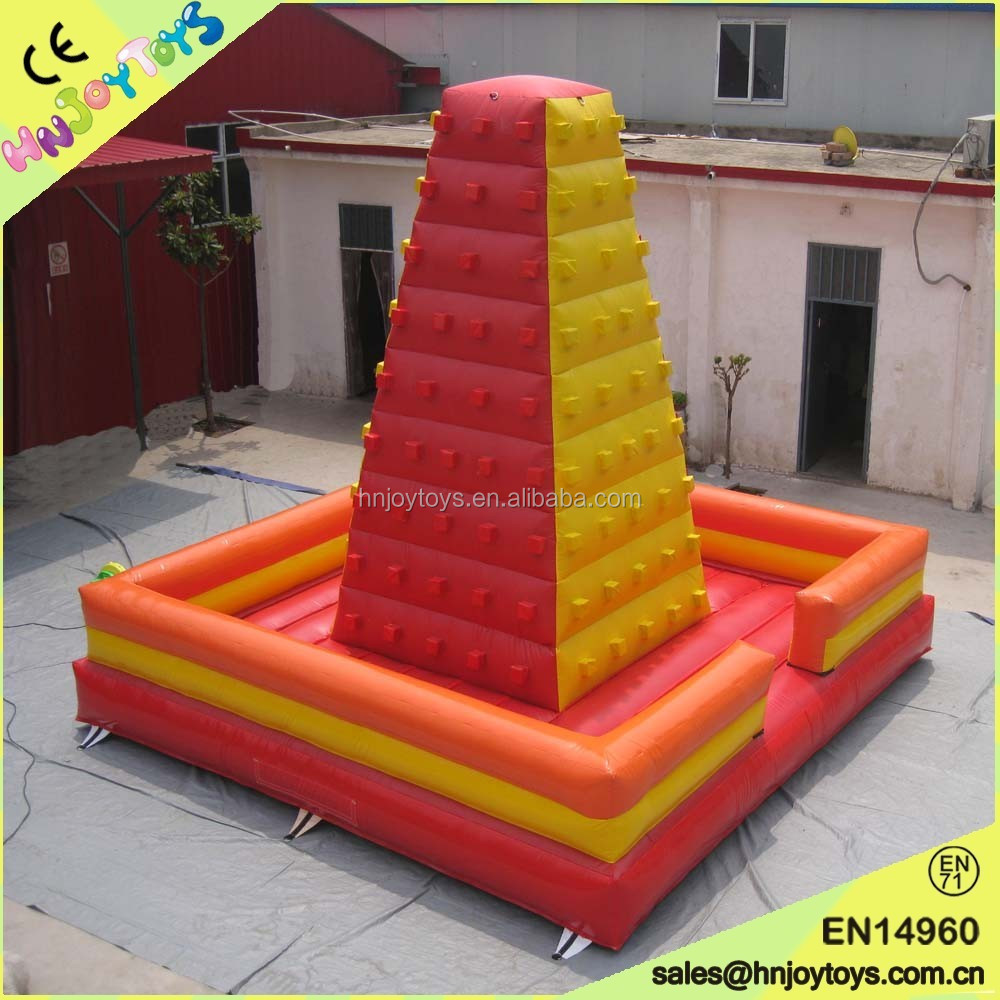 <strong>Inflatable</strong> Rock Climbing Mountain/Rock Climbing Wall/<strong>Inflatable</strong> Climbing Wall with Ropes