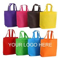 High Quality Best selling Cheap Price foldable Custom Logo non woven bag with drawstring tote bag made in china