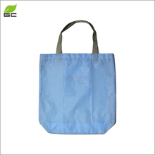 Factory Hot Sale Eco Foldable High Quality Promotional Printed Polyester Shoulder Tote Shopping Bag