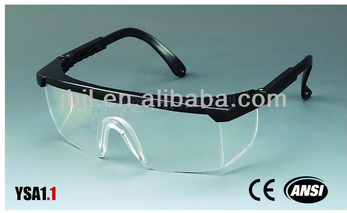 fashionable industrial CE EN 166/ANSI Z 87.1 Safety Glasses