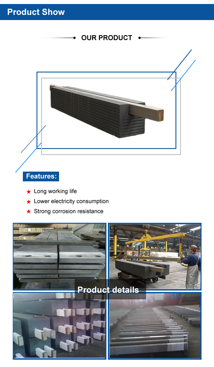New Product! Cathode Bars for the Aluminum Production