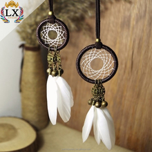 DLX--00021 many colors small dream cather handmade car dream catcher with small bell