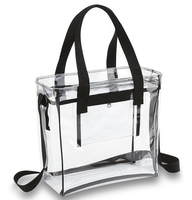 Promotional Clear PVC Messenger Bag