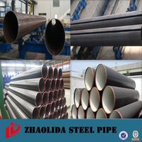 carbon steel pipe price per ton ! black pipe for drinking water api 5l x65 psl1 saw steel tube mill