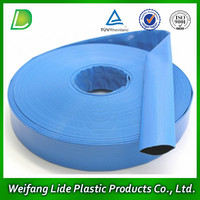 PVC Vinyl Conduit Water Layflat Hose For Irrigation