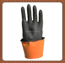 High Quality High temperature resistance black Industrial latex glove