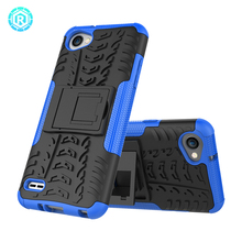Combo Tire Pattern Transformer Back Cover Phone Case for LG Q6 q6 Q 6