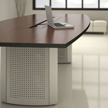 metal base meeting table