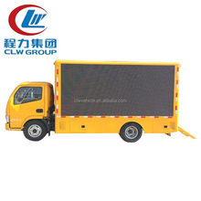 Mobile LED Screen Truck Pitch 10mm Vehicle Mounted LED Screen Moblie Advertising Trucks