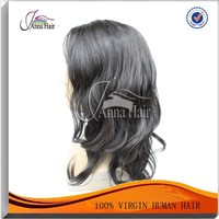 New product brazilian virgin hair lace front wigs natural