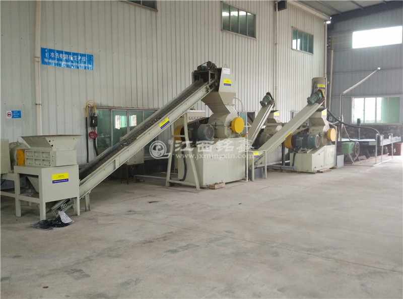 advanced water type gravity separation PCB recycling machine /scrap copper recovery machinery