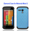 2-in-1 Silicon and Plastic Wholesale Phone Case for Moto G