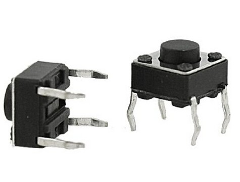 China suppliers 6*6*8mm straight type Tact switch