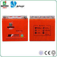 Fast Charging Dry Cell Motorcycle Battery For Zongshen Motorcycle YB9-BS