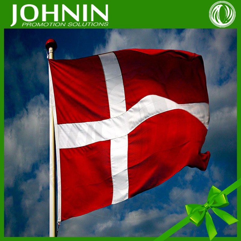 Custom Cheap Outdoor Good Quality new Country 3 x 5 Danish Flag