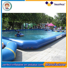 2017 new design water games inflatable swimming pool for kids