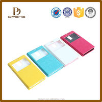 Custom Newest Luxury Design Bling Flip Cover Waterproof Leather Phone case For Iphone 5