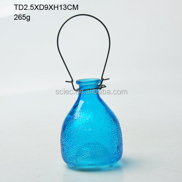 most popular transparent/decorative/spray glass insect trap for supermarket /garden decor