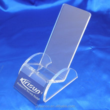 2015 acrylic mobile phone display stand, mobile phone display cabinet