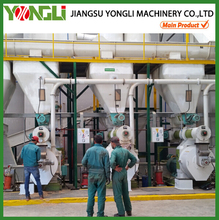 YONGLI rice husk/wood chips/wood logs pellet making machine price for sale