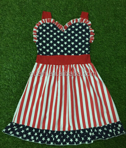 2016 new style Navy Blue Chevron girls Clothes dresses baby boutique fashion chevron maxi baby part dress