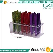 Hot sale custom plating tweezers