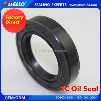 Internally-wrapped skeleton oil seal