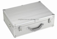 Carrying box style Aluminum metal hardware tool case XB-TL005