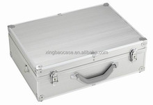 Carrying case style Aluminum metal hardware tool case XB-TL005